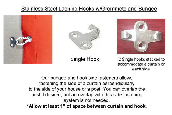 Stainless Hook Bungee